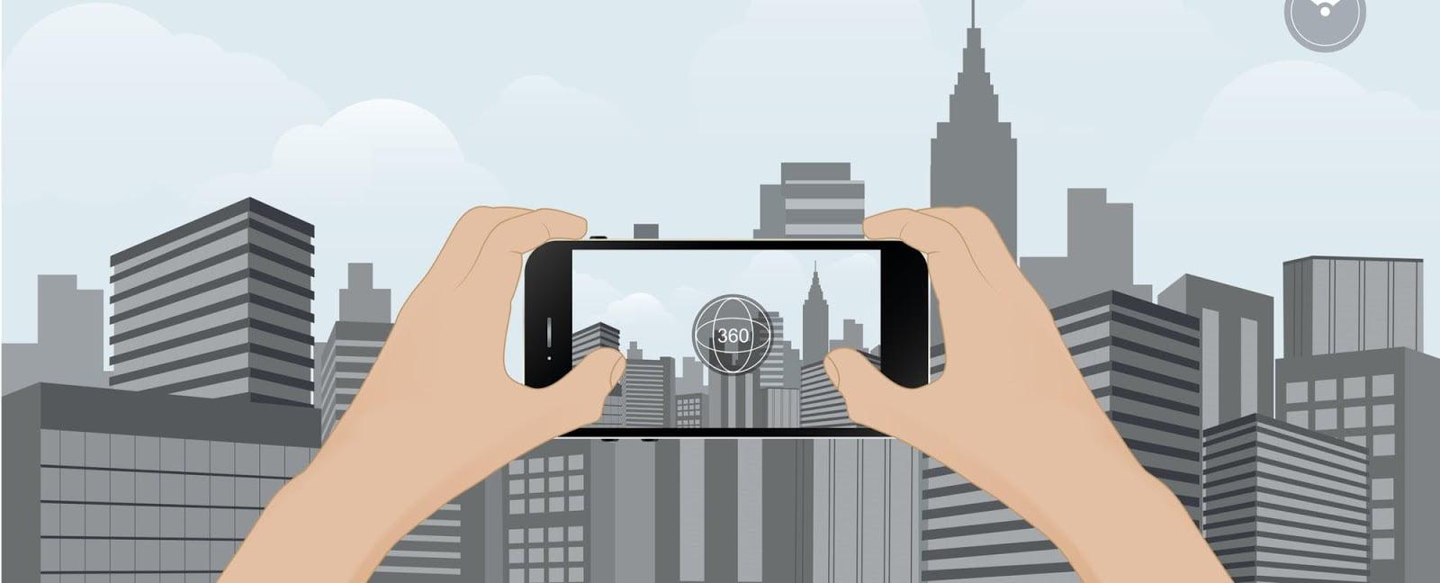 تور مجازی ثبت موقعیت در نقشه گوگل تور مجازی گوگل پوستر گوگل لوکال گاید راهنمای محلی گوگل google local guide وکتور بنر تور مجازی عکس 360 درجه لوگو تور مجازی پوستر