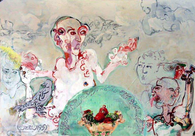 نمایشگاه باز-نگری ، مجموعه آثار رنه صاحب Rene Saheb