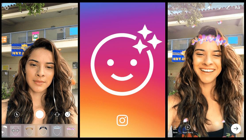 فیلتر جدید اینستاگرام افکت اینستاگرام دانلود نرم افزار ساخت افکت اینستاگرام spark ar saprkar creators instagram filters